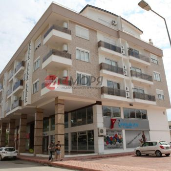 люкс апартаменты у моря в Гюрсу 1+1